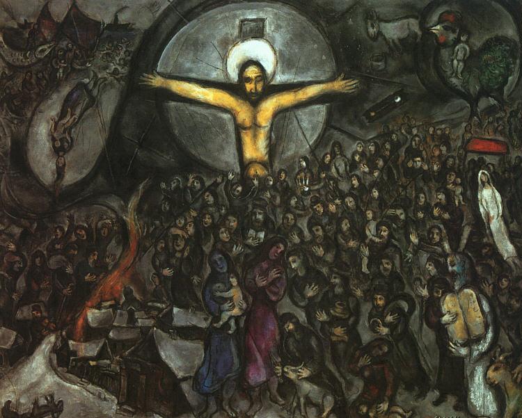 Marc Chagall Chagall Crucifixion