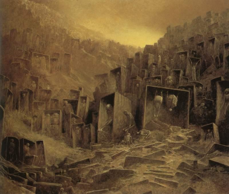 Resident Evil: Nebuchadnezzar's Harvest Zdzislaw_beksinski_1971